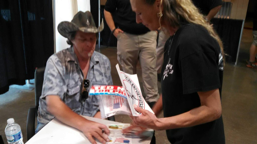 Billie Jo and Ted Nugent