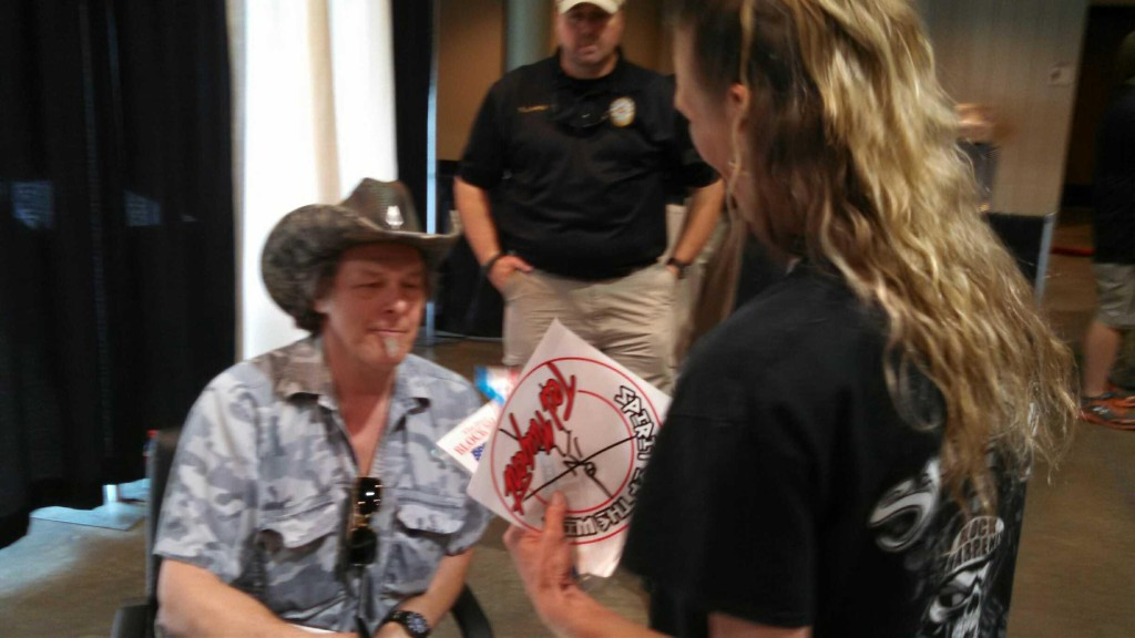 Ted Nugent with Billie Jo