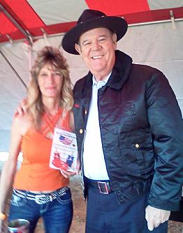 ``Deputy Cletus Hogg`` - Rick Hurst -From the Original Dukes of Hazzard TV show with his new Block Sharpener