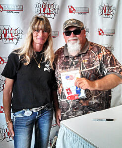 Mike Godwin - Duck Dynasty with his new Block Sharpener