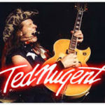 Ted nugent with guitar
