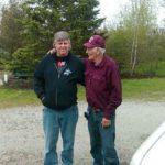 Me Paul Block#3 with my Dad Paul JR Block 5-20 -15 Capac Mich