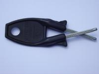 Original Block knife sharpener Black handle