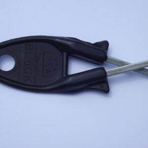 Original Block knife sharpener Black handle. (Free Shipping)