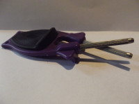 purple handle black rip Block Sharpener