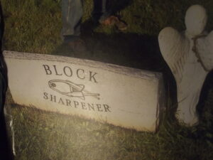 Block sharpener