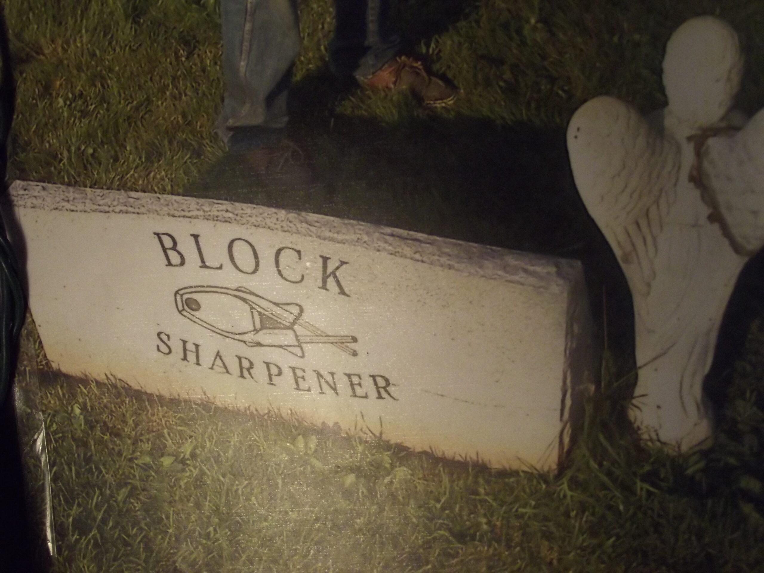 Knife sharpener History