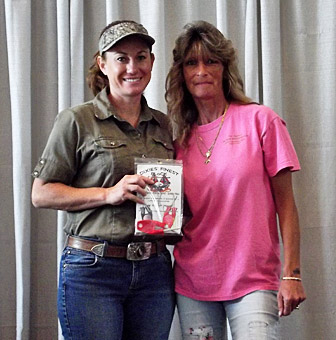Kristi Broussard (swamp People) with a Block knife Sharpener