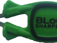 green handle with black grip Block Sharpener