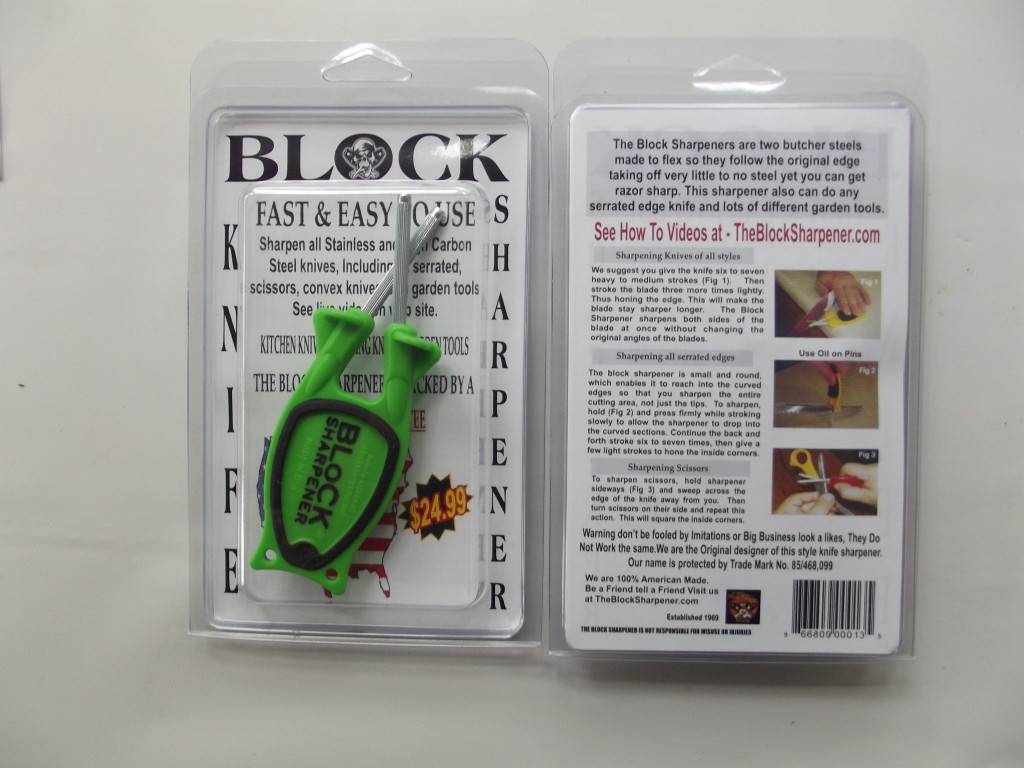 Block Sharpener Packaging