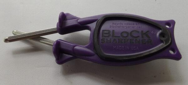 Purple pocket knife Sharpener for sale