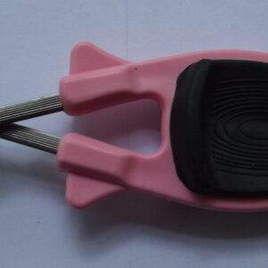 Pink knife sharpener for sharpening Kitchen knives