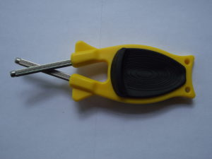 Yellow with Black Grip