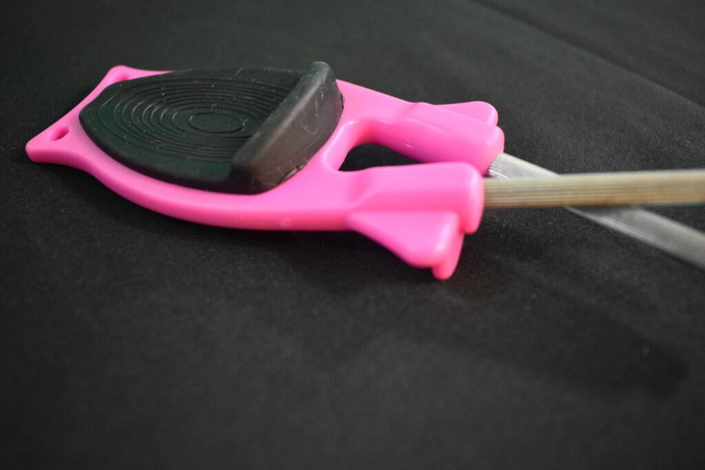 knife sharpener in the color Pink