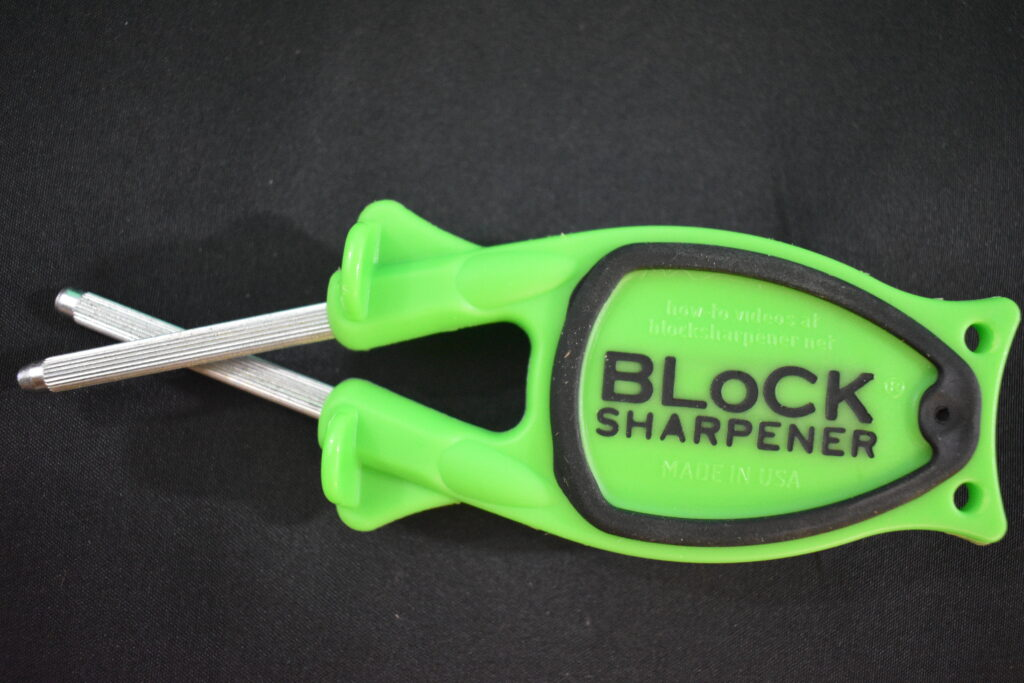 name on bottom of knife sharpener