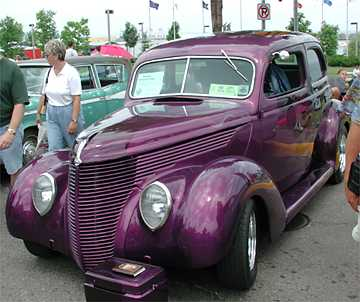 purple 38 ford
