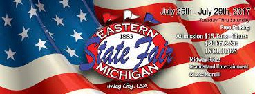 Michigan eastern state fair