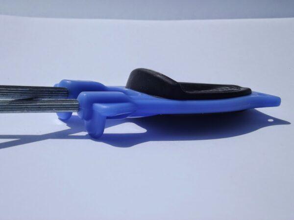 Blue Kitchen Knife sharpener Made by Block .