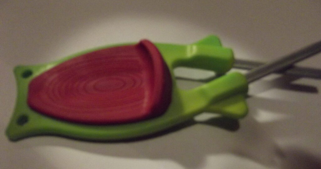Green with Red grip Block Knife sharpener. (Free Shipping)