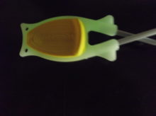 Glow in the dark knife sharpeners