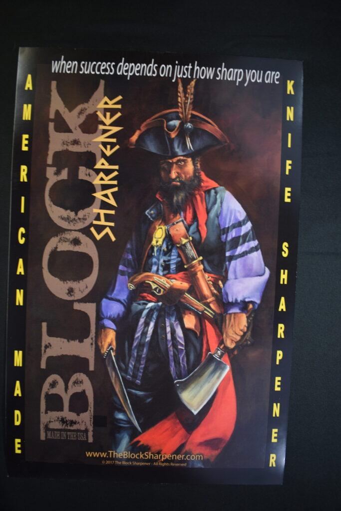 Pirates from Florida Captain Sharp Blade.