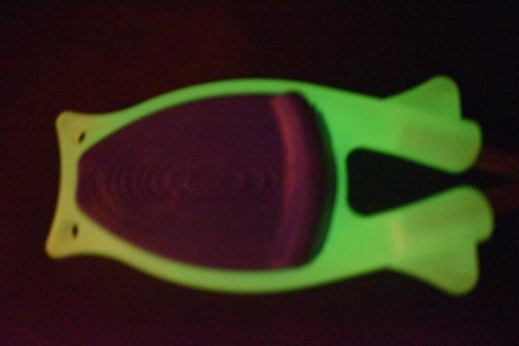 Glow in the dark knife sharpeners