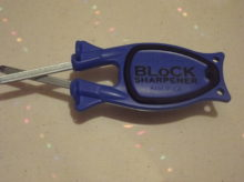 Royal Blue Block knife sharpener