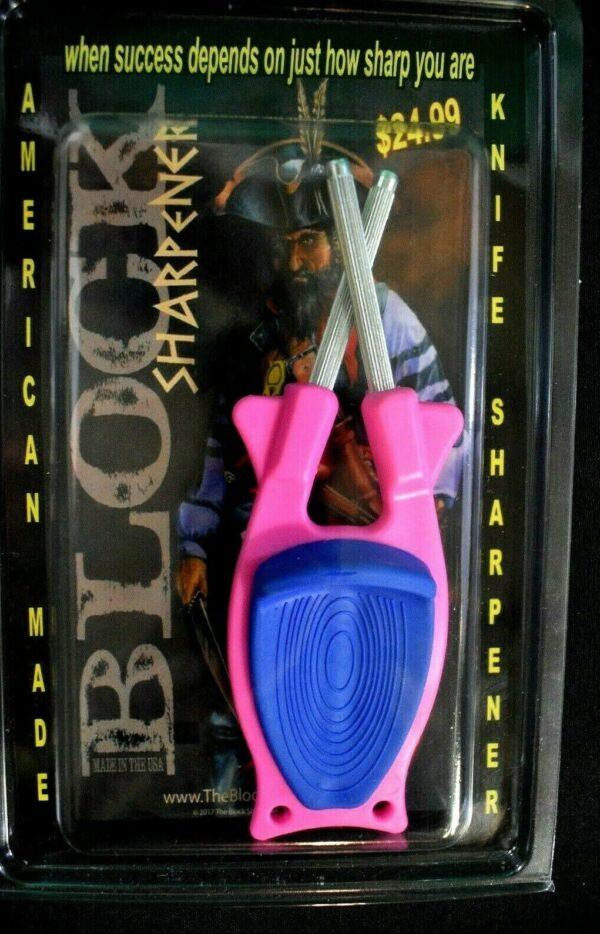 Pink knife sharpeners